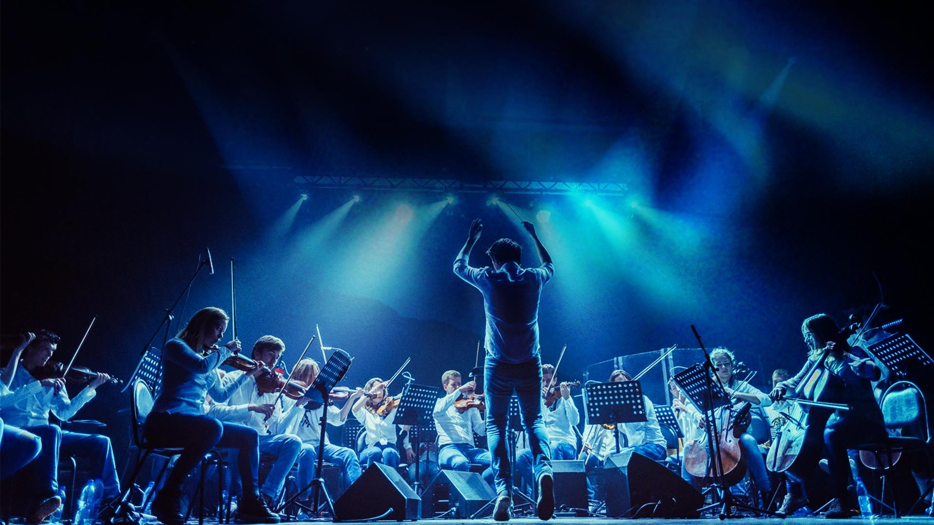 """Coldplay vs Radiohead"". Concert Programme of the Symphonic Rock Orchestra ""RockestraLive"""