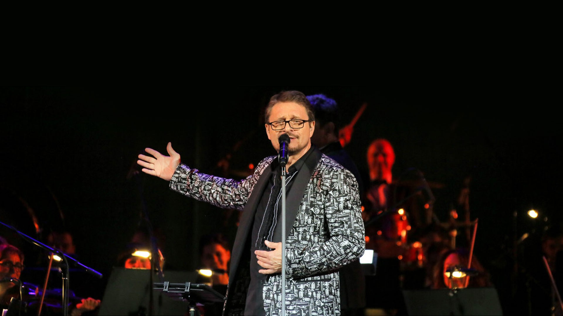 "Vladimir MARKIN. Concert Program ""Only for Close Friends - 2019"", accompanied by the Exemplary Orchestra of the National Guard Troops of the Russian Federation"
