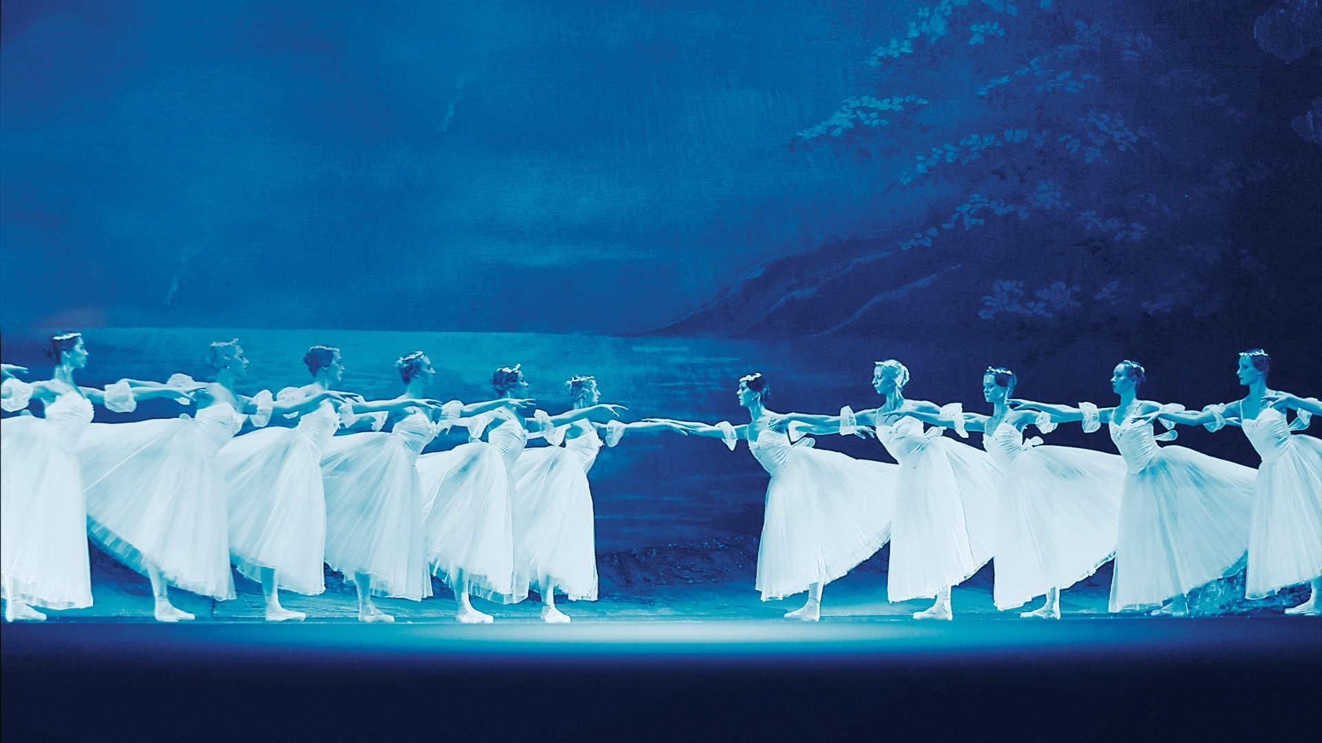 "Giselle. Performance of the ""Kremlin Ballet"""