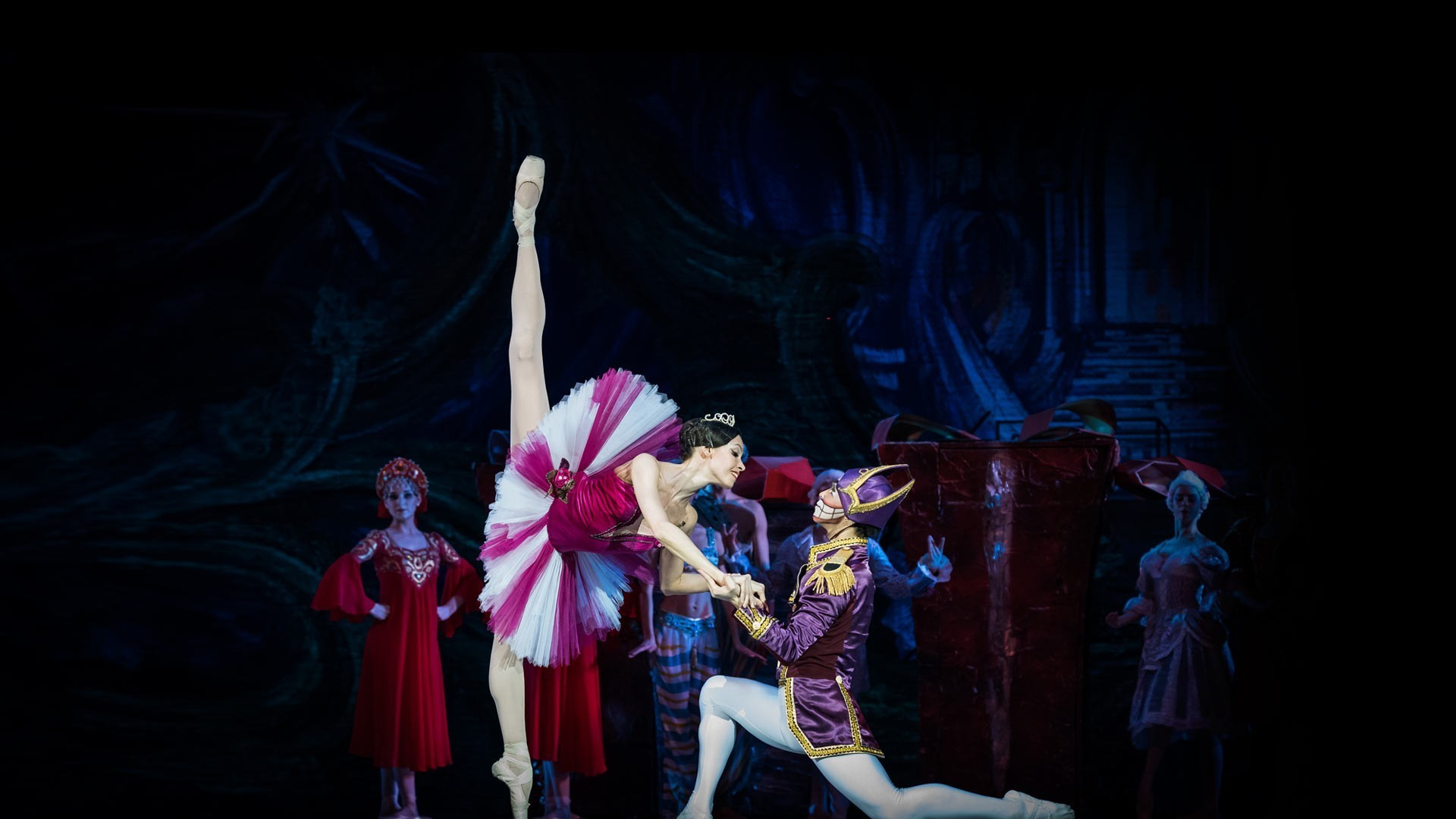 "Nutcracker. Performance of the ""Kremlin Ballet"""