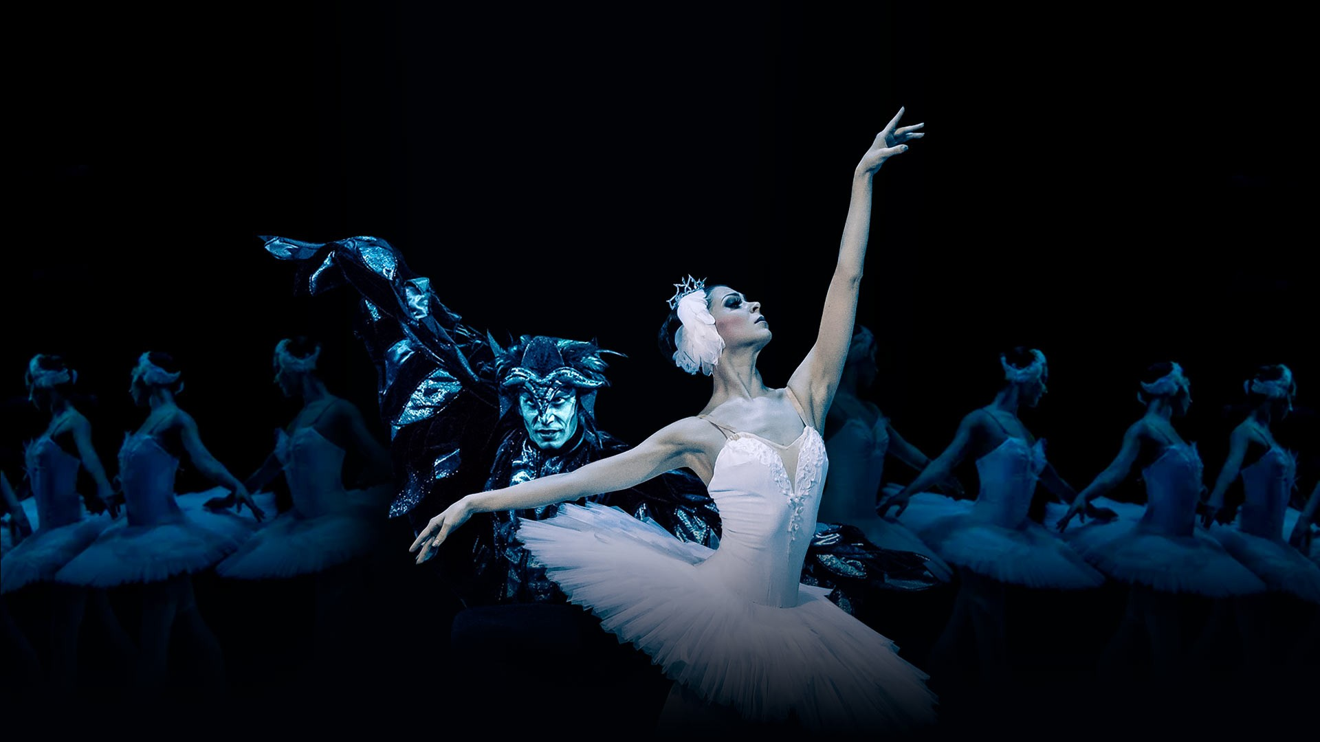 "Swan Lake. P. Tchaikovsky. Performance of the ""Kremlin Ballet"""