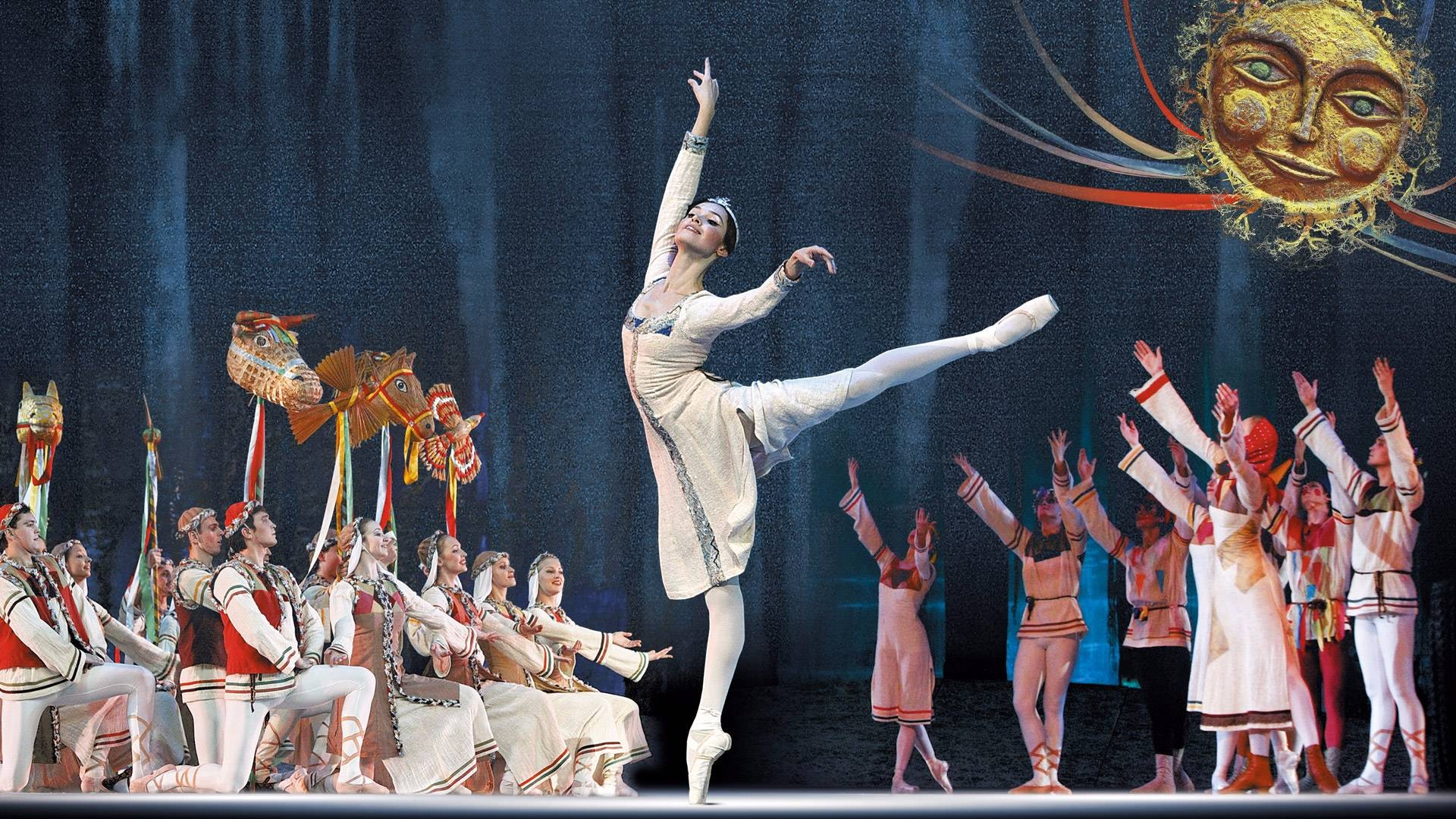 "Snow Maiden. Performance of the ""Kremlin Ballet"""