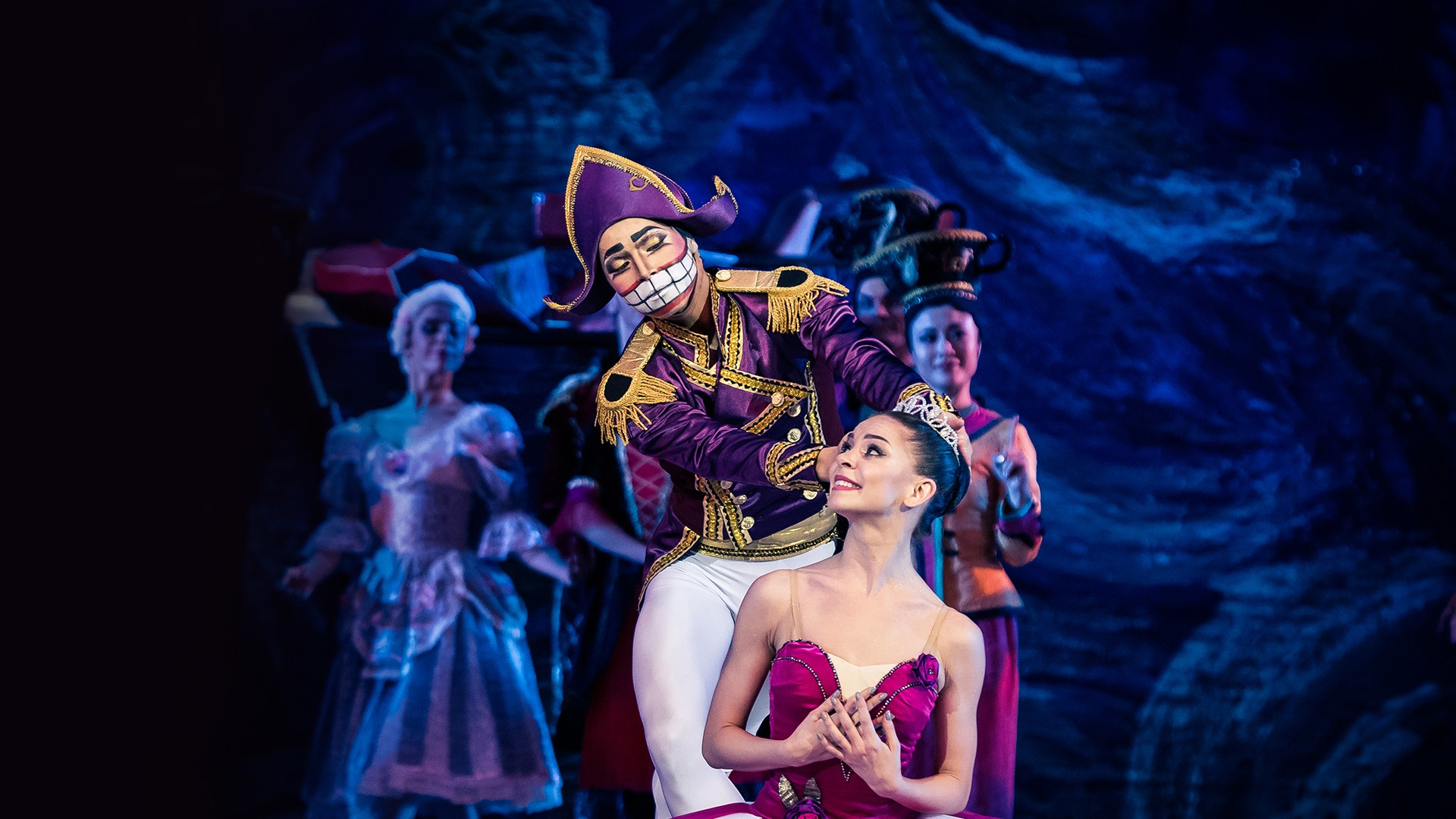 "Nutcracker. P. Chaikovsky. Performance of the ""Kremlin Ballet"""
