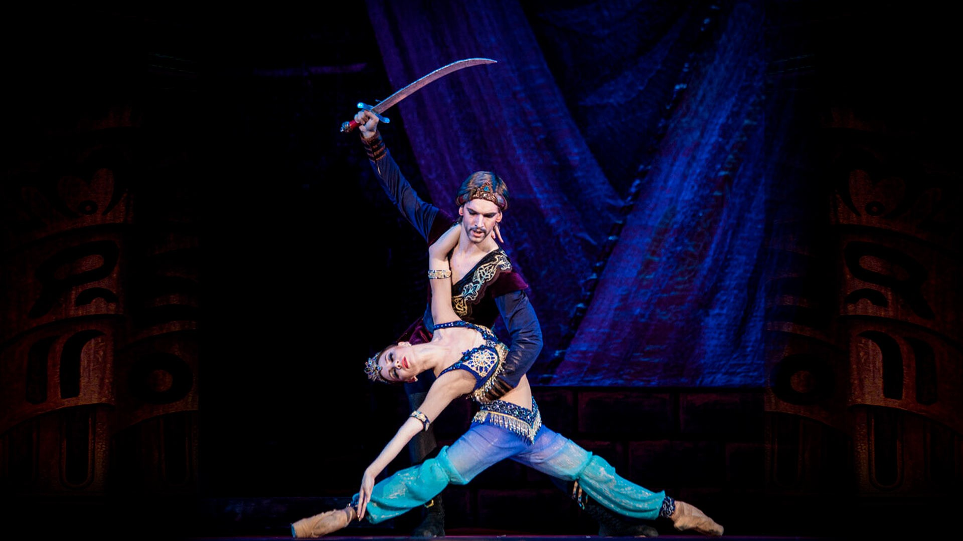 "One Thousand and One Nights. F. Amirov. Performance of the ""Kremlin Ballet"""